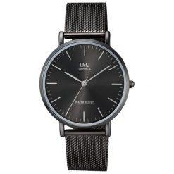 Zegarek Q&Q Zegarek unisex QA20-402 Black Fasion Mesh  Czarny. Czarne zegarki męskie Q&Q. Za 124,00 zł.