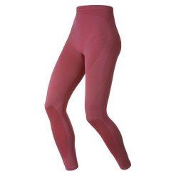 Odlo Spodnie Pants Long Evolution Warm pomarańczowe r. L. Brązowe spodnie sportowe damskie marki Odlo, l. Za 101,61 zł.