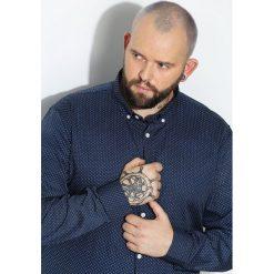 Niebieska Koszula Beginner. Czarne koszule męskie marki Born2be, l, z aplikacjami, z dresówki. Za 44,99 zł.