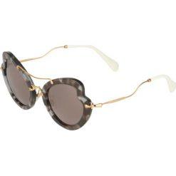 Okulary przeciwsłoneczne damskie aviatory: Miu Miu Okulary przeciwsłoneczne havana