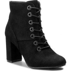 Botki JENNY FAIRY - LS4175-01 Czarny. Czarne buty zimowe damskie Jenny Fairy, z materiału. Za 129,99 zł.