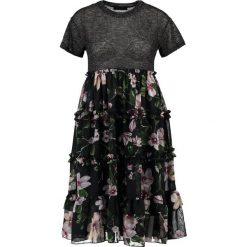 Sukienki hiszpanki: Navy London IRINA Sukienka letnia light grey