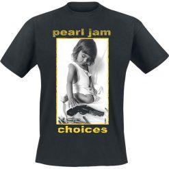 T-shirty męskie: Pearl Jam Choices T-Shirt czarny