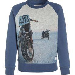 American Outfitters CNECK MOTO Bluza  washed blue. Niebieskie bluzy chłopięce marki American Outfitters, z bawełny. W wyprzedaży za 186,75 zł.