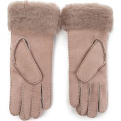 Rękawiczki Damskie EMU AUSTRALIA - Apollo Bay Gloves Mushroom. Szare rękawiczki damskie EMU Australia, ze skóry. W wyprzedaży za 279,00 zł.