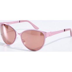 Okulary przeciwsłoneczne damskie aviatory: Okulary przeciwsłoneczne – Różowy
