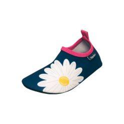 Playshoes  Buty do wody Margarite marine - niebieski - Gr.Moda (6 - 24 miesięcy ). Niebieskie buciki niemowlęce chłopięce Playshoes, z materiału. Za 59,00 zł.