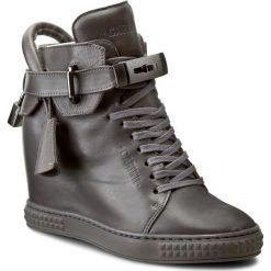 Sneakersy CARINII - B3767 I38-000-PSK-B88. Szare botki damskie skórzane Carinii. W wyprzedaży za 279,00 zł.