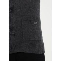 Swetry męskie: Jack & Jones JORINSPECT Kardigan dark grey melange