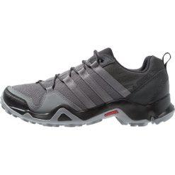 Adidas Performance TERREX AX2R Obuwie hikingowe carbon/grey four/solar slime. Szare buty trekkingowe męskie adidas Performance, z materiału, outdoorowe. Za 399,00 zł.