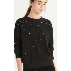 Bluza z dżetami - Czarny. Czarne bluzy damskie Sinsay, l. Za 49,99 zł.