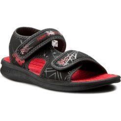 Sandały NEW BALANCE - K2031BRD Black/Red. Czarne sandały chłopięce New Balance, z materiału. Za 99,00 zł.