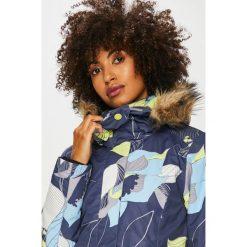 Roxy - Kurtka snowboardowa. Białe kurtki damskie marki Roxy, l, z nadrukiem, z materiału. W wyprzedaży za 679,90 zł.