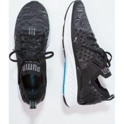 Puma IGNITE EVOKNIT  Obuwie do biegania treningowe black/quiet shade/white. Czarne buty do biegania damskie Puma, z materiału. W wyprzedaży za 407,20 zł.