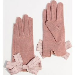 Wełniane rękawiczki - Różowy. Brązowe rękawiczki damskie marki Roeckl. Za 49,99 zł.