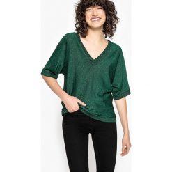 Swetry damskie: Sweter z cienkiej dzianiny, z połyskiem