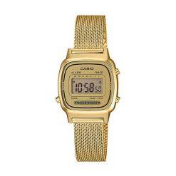 Zegarek Casio Damski Retro LA670WEMY-9EF Gold Tone. Brązowe zegarki damskie CASIO. Za 294,20 zł.