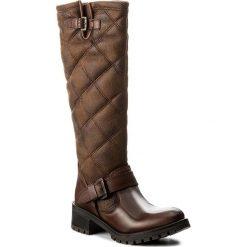 Kozaki BRONX - 13990-B BX 763 Mid Brown 21. Czarne buty zimowe damskie marki Bronx, z materiału. W wyprzedaży za 269,00 zł.