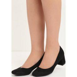 Buty ślubne damskie: Czarne Czółenka Shade