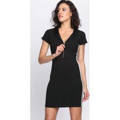Czarna Sukienka Love Thang. Czarne sukienki dzianinowe marki Born2be, na lato, s. Za 74,99 zł.