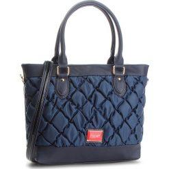 Torebka MONNARI - BAGB290-013 Navy. Niebieskie torebki klasyczne damskie marki Monnari, z materiału. W wyprzedaży za 169,00 zł.