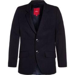S.Oliver RED LABEL Marynarka dark blue. Niebieskie kurtki dziewczęce marki s.Oliver RED LABEL, z elastanu. W wyprzedaży za 377,10 zł.