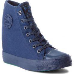 Sneakersy damskie: Sneakersy BIG STAR - AA274A090 Navy