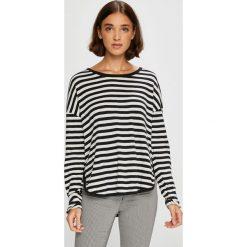 Roxy - Bluzka. Szare bluzki asymetryczne Roxy, m, z bawełny, z okrągłym kołnierzem. Za 149,90 zł.
