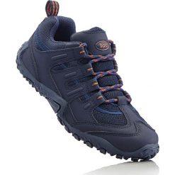 Buty trekkingowe bonprix ciemnoniebiesko-pomarańczowy. Brązowe buty trekkingowe damskie bonprix. Za 79,99 zł.