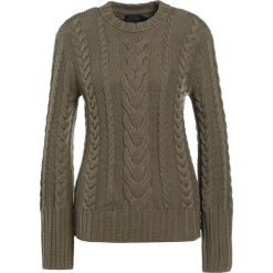 Swetry klasyczne damskie: Polo Ralph Lauren Sweter olive