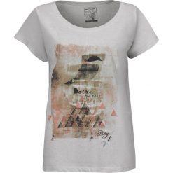 Bluzki asymetryczne: BERG OUTDOOR Koszulka damska CAMELIA biała r. S (P-10-EL5131400SS15-003-S)