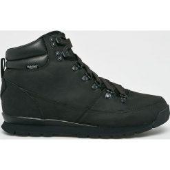 The North Face - Buty. Czarne buty trekkingowe męskie The North Face, z gumy, na sznurówki, outdoorowe. Za 599,90 zł.