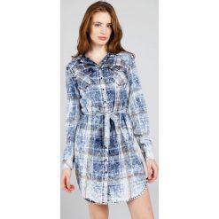 Sukienki hiszpanki: Sukienka - 2-13150 NAVY