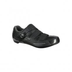 Buty na rower szosowy RP3. Czarne buty skate męskie marki Shimano, ze skóry, na klamry, rowerowe. Za 319,99 zł.