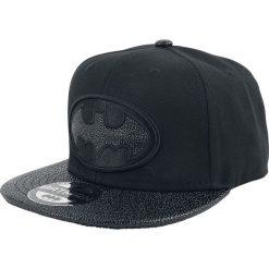 Czapki męskie: Batman Black Logo Czapka Snapback czarny