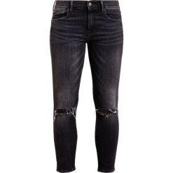 Polo Ralph Lauren ABBY Jeansy Slim fit washed black. Czarne rurki damskie Polo Ralph Lauren. W wyprzedaży za 377,40 zł.