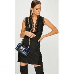 Pinko - Sukienka. Szare sukienki mini marki Pinko, na co dzień, z acetatu, casualowe, proste. Za 1399,00 zł.