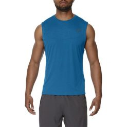Asics Koszulka męska Ventilation niebieska r. L (141817 8154). Niebieskie koszulki sportowe męskie marki Asics, l. Za 147,38 zł.