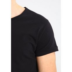 T-shirty męskie: Tigha MIRO Tshirt basic black