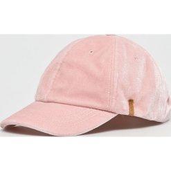 Barts - Czapka. Szare czapki z daszkiem damskie marki Barts, z bawełny. W wyprzedaży za 99,90 zł.