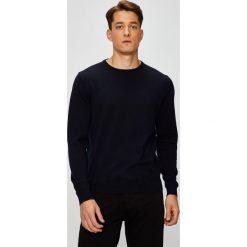Pierre Cardin - Sweter. Szare swetry klasyczne męskie marki Pierre Cardin, l, z bawełny, z okrągłym kołnierzem. W wyprzedaży za 299,90 zł.