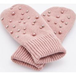 Rękawiczki z koralikami - Różowy. Brązowe rękawiczki damskie marki Roeckl. Za 49,99 zł.