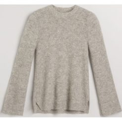 Sweter z moherem - Jasny szar. Szare swetry klasyczne damskie marki Reserved, l, z moheru. Za 299,99 zł.