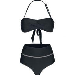 Stroje kąpielowe damskie: Bench Bandeau Bikini Set Bikini czarny