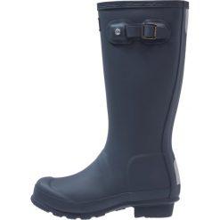 Hunter ORIGINAL Kalosze navy. Niebieskie buty zimowe damskie Hunter, z kauczuku. Za 269,00 zł.