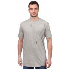Brave Soul T-Shirt Męski Benji M Szary. Szare t-shirty męskie marki Brave Soul, m. W wyprzedaży za 30,00 zł.