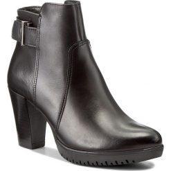 Botki TAMARIS - 1-25051-29 Black 001. Czarne buty zimowe damskie marki Tamaris, z polaru, na obcasie. W wyprzedaży za 229,00 zł.