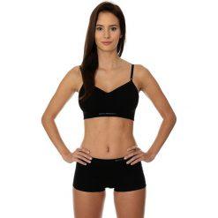 Biustonosze sportowe: Brubeck Biustonosz Comfort Cotton czarny r. 70A (BR00012A)