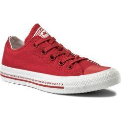 Trampki CONVERSE - Ctas Ox 159588C Enamel Red/Enamel Red/White. Czerwone trampki męskie Converse, z gumy. W wyprzedaży za 209,00 zł.