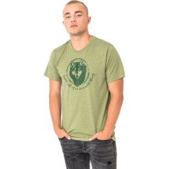 Hi-tec Koszulka męska Lupus Green Melange r. M. Zielone koszulki sportowe męskie Hi-tec, m. Za 33,75 zł.